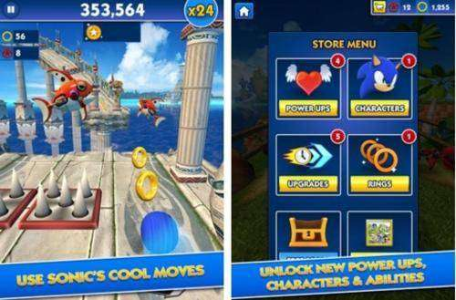 Sonic Dash MOD APK Android Game Free Download