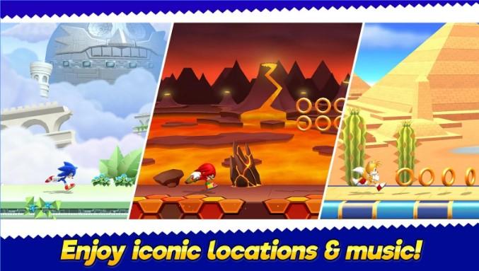Sonic Läufers Abenteuer APK Android