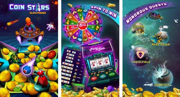Space Blaze Coin Party Dozer Unlimited Money MOD APK Download