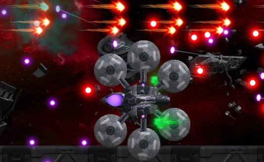 space shooter asap bullet hell white APK Android