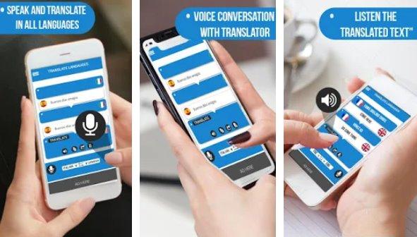 говорить и переводить голосовой набор с переводчиком APK Android