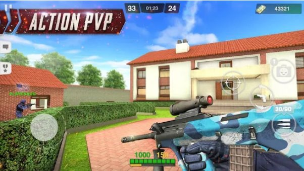 special ops gun shooting online fps war game APK Android