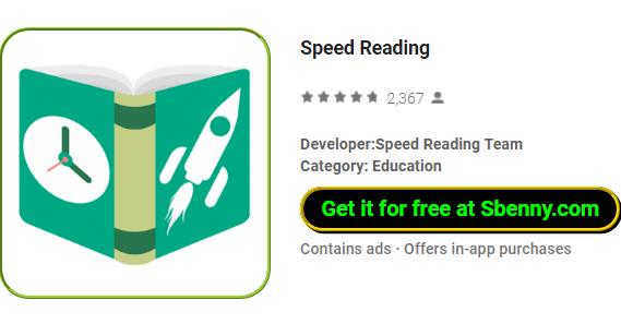 Speed Reading MOD APK for Android Free Download