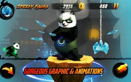 rapide guerrier dragon panda APK Android