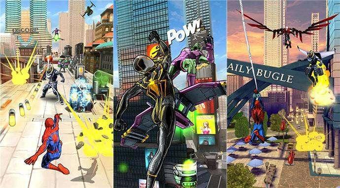 Spider-Man Unlimited Free Download-Spiel für Android
