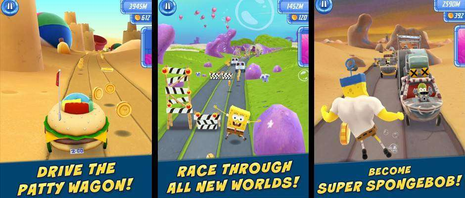 SpongeBob: Sponge on the Run Free Download APK Android Game