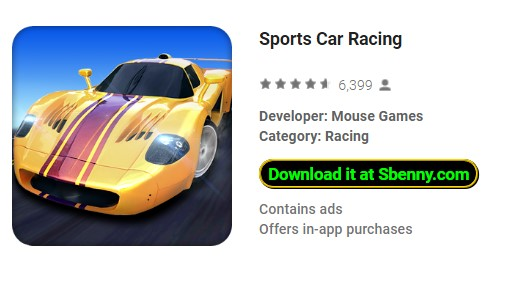 Sports Car Racing Unlimited Coins & Gold MOD APK Download