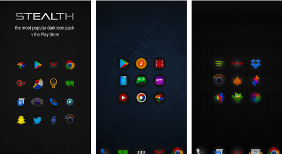 stealth icon pack APK Android
