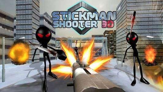 Stickman tirador 3D