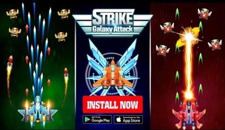 Strike Galaxy Attack Unlimited Money MOD APK Download