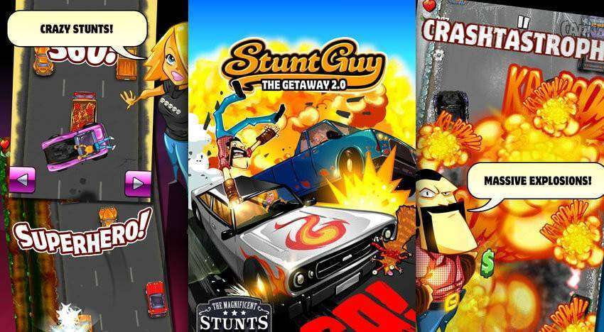 Stunt Guy The Getaway 2.0 APK + MOD for Android!