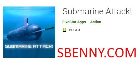 ataque submarino