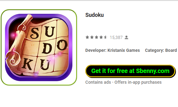 Sudoku MOD APK for Android Download