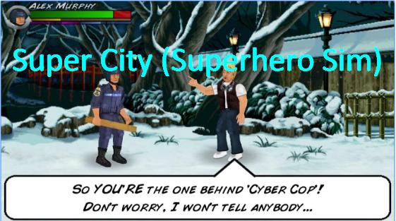 Super City superhéroe sim