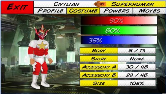 superhero ciudad sim APK Android