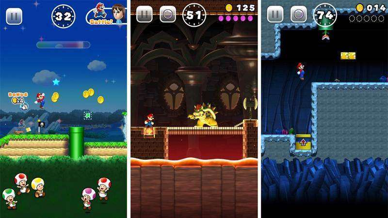 mario run apk full español