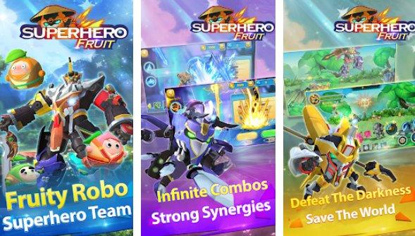 Superheld Obst Premium-Roboter Kriege zukünftige Schlachten
