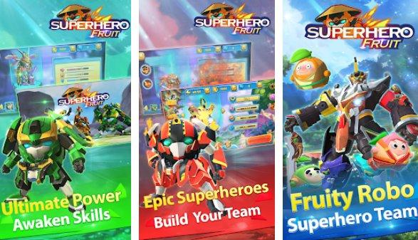 Superheld Obst Premium Roboter Kriege zukünftige Schlachten APK Android