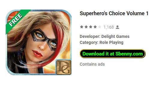 volumen de elección del superhéroe 1
