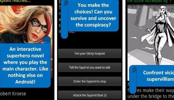 volumen de elección del superhéroe 1 APK Android