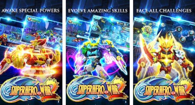Superheld Kriegsprämie Roboter Kampf Aktion RPG APK Android