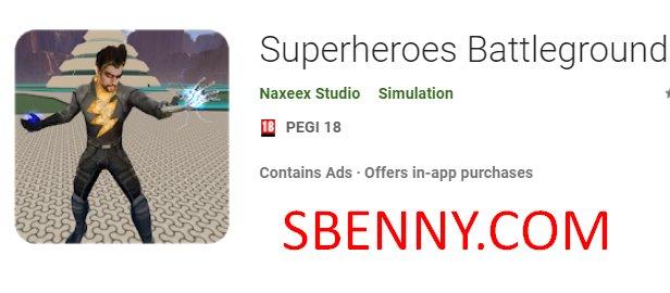 Superheroes Battleground Unlimited Gems MOD APK Download
