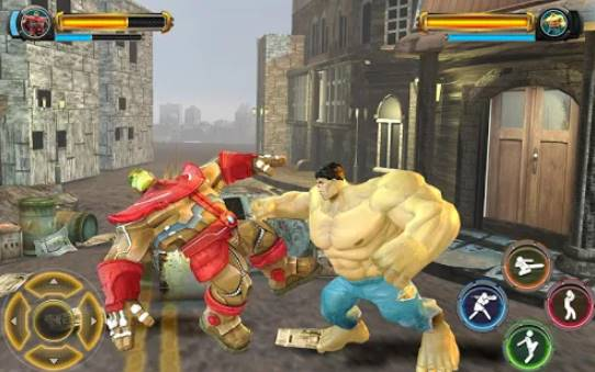 superheroes vs super villains real fighting game APK Android