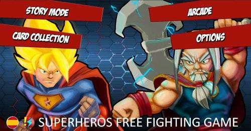 Superheros Free Fighting Games