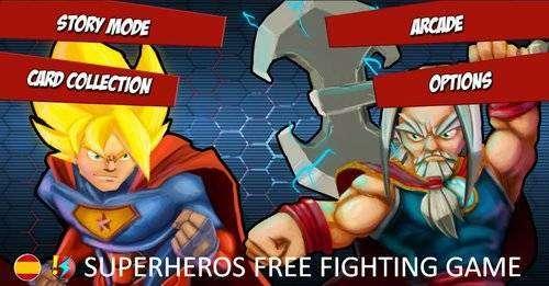 Superheros gratis Juegos de lucha