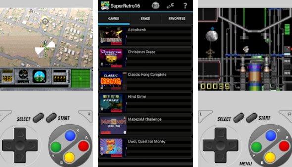 SuperRetro16 ( SNES Emulator ) Paid APK Androd Download