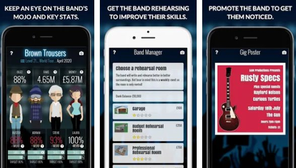 superstar band manager APK Android
