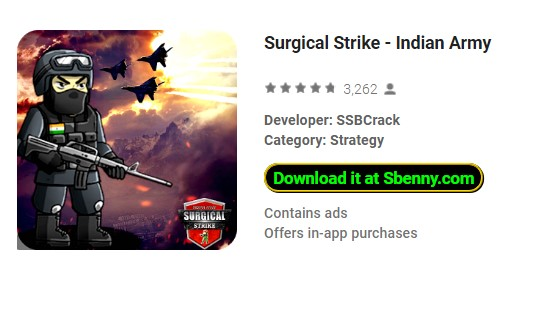 Surgical Strike - Indian Army MOD APK Android Download