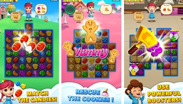 süße Straße Cookie-Rettung APK Android