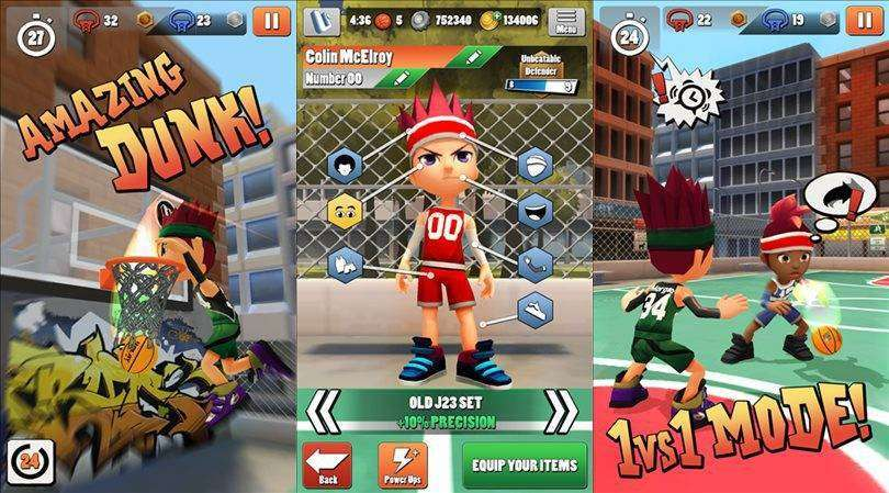 Swipe Basketball 2 MOD APK Android Game Free Download
