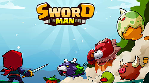 Schwert Mann Monster Jäger