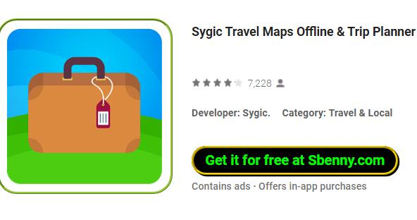 Sygic Travel Maps Offline & Trip Planner MOD APK Download