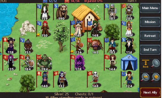 tactics maiden rpg APK Android