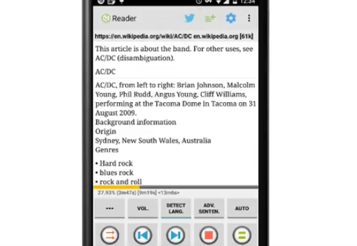 Talk Text (Read Aloud) Mint MOD APK for Android Download