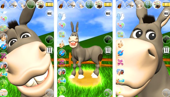 hablando donald burro APK Android