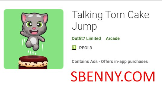 Talking Tom Cake Jump + MOD