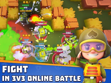 Panzer viel Echtzeit-Multiplayer-Kampfarena APK Android