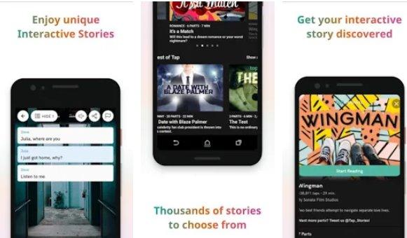 toccare dalla comunità di storia interattiva wattpad APK Android