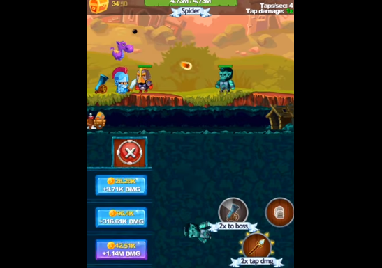 Tap Knight Unlimited Money MOD APK Free Download