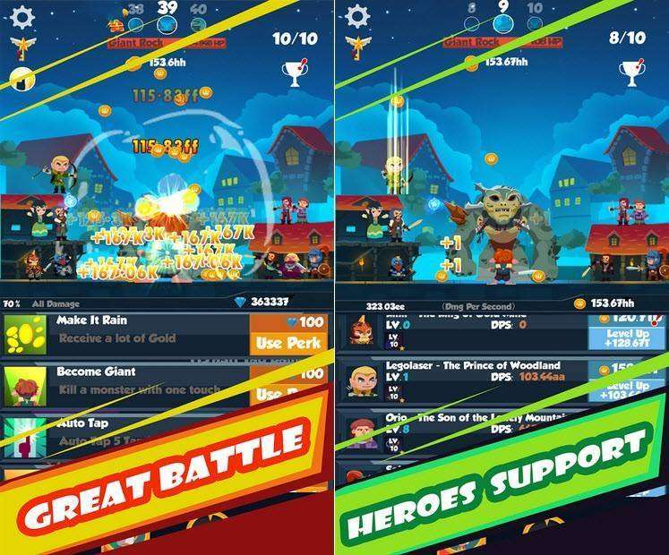 Tap Orcs: Titans MOD APK Android Game Free Download