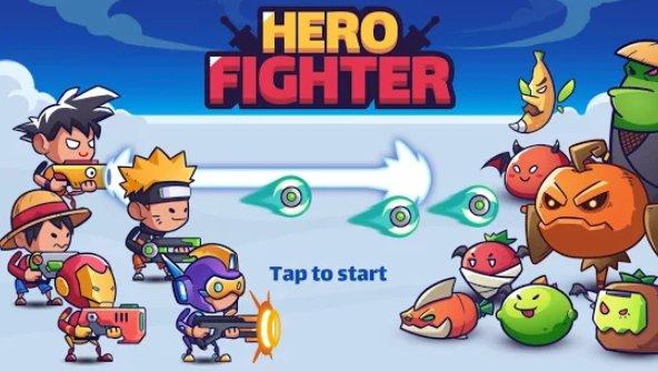 colpisci gli eroi stickman eroi inattivo combattente eroe