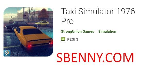simulatore di taxi 1976 pro