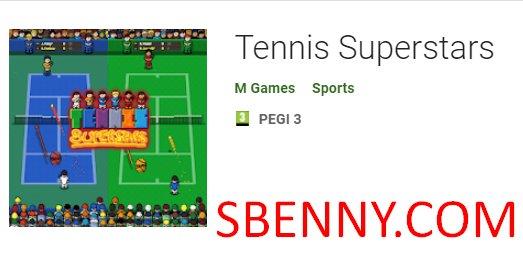 superstar del tennis