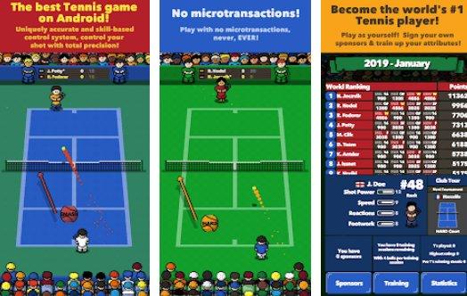 superstar del tennis APK Android