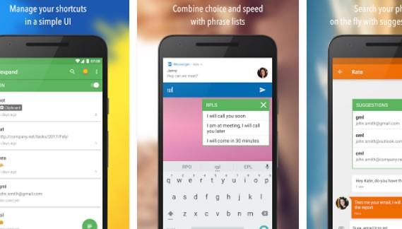 texpand plus abreviação expansão digitando ajuda APK Android