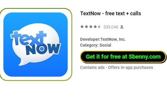 TextNow - free text + calls MOD APK for Android Download